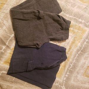 2 pair sweatpants